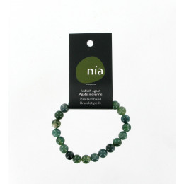 Bracelet perle Agate Indien