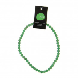 Collier perle 40 cm Aventurine
