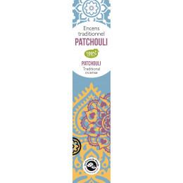 Encens traditionnel Indien Patchouli tendre 20 g