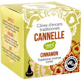 Cônes d'encens traditionnels Cannelle 100% naturel
