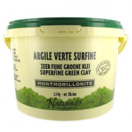 Argile verte Montmorillonite surfine - 2,5 kg