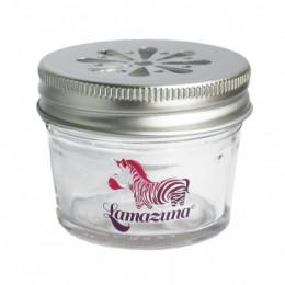 Boite de rangement en verre pour cosmétiques solides