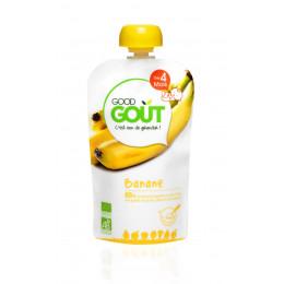 Gourde de fruit : banane - 120 g - à partir de 4 mois