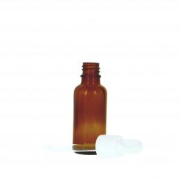 Flacon vide en verre 30 ml avec pipette doseuse en verre