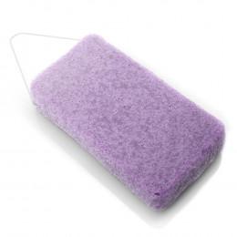 Grande éponge Konjac XL pour le corps Violette