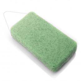Grande éponge Konjac XL pour le corps Argile verte