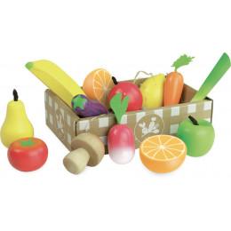 Set de fruits et légumes 'Jour de marché' - à partir de 3 ans