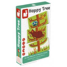 Jeu de memoire Happy Tree - à partir de 4 ans *