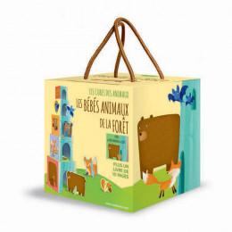 Cubes des animaux Les bébés animaux de la forêt - à partir de 2 ans