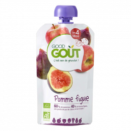 Pomme Figue 120g - Dès 6 mois