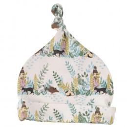 Bonnet en coton BIO - Forêt