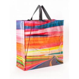 Grand cabas shopper en matériaux recyclés - Summer Highway