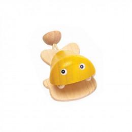 Castagnette poisson jaune - à partir de 12 mois