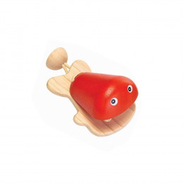 Castagnette poisson rouge - à partir de 12 mois