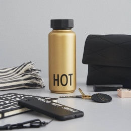 Gourde isotherme Hot - Gold edition