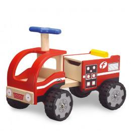 Porteur camion pompier - à partir de 18 mois