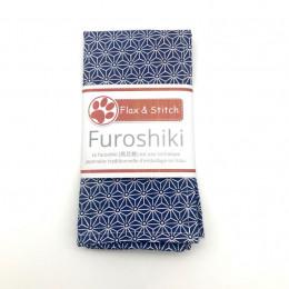 Furoshiki 32 x 32 cm - Geometric Blue 2