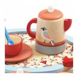 Dînette en bois Tea Time