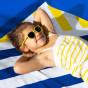 Lunettes de soleil Little Kids SUN WaZZ - Jaune