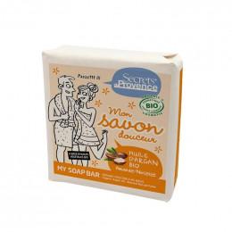 Savon douceur BIO - Argan, amande et noisette - 100 g
