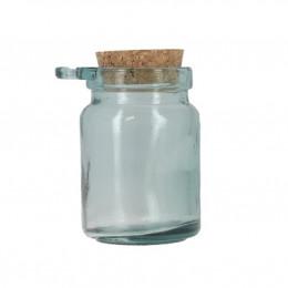 Pot à condiments en verre recyclé - 250 ml