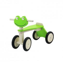 Tricycle grenouille en bois - à partir de 18 mois
