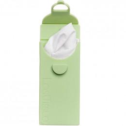 LastTissue - Paquet de mouchoirs lavables en coton - Vert d'eau