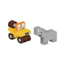 Blocs de construction ECO - safari - 31 pièces - à partir de 18 mois