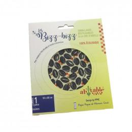 Emballage alimentaire réutilisable à la cire d'abeille - 50x60 cm - Graines