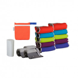 Kit de couches lavables Pop In V2 - Bambou Brights