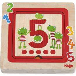Puzzle en bois Amis des chiffres