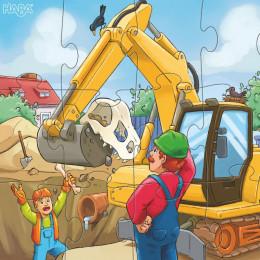 Puzzles Véhicules de chantier