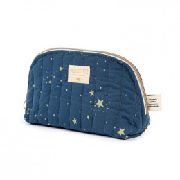 Trousse de toilette Holiday - Gold stella & Night blue - large