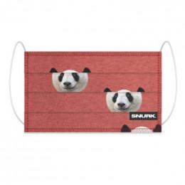 Masque buccal en coton bio - Lazy panda