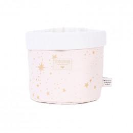 Panier Panda - Gold stella & Dream pink - small