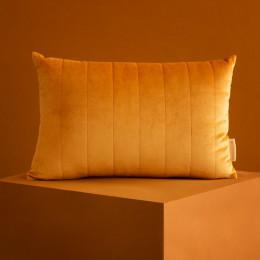 Coussin Akamba velvet 45x30 cm - Farniente yellow