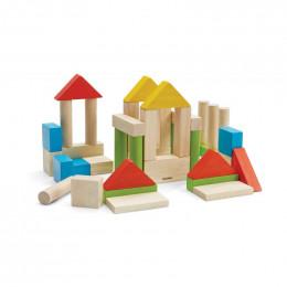 Set de 40 blocs colorés