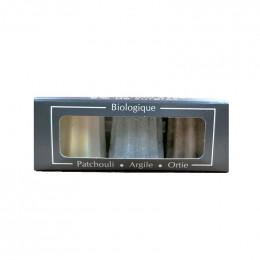Trio de cannelés - Patchouli Argile Ortie - 3 x 20 g