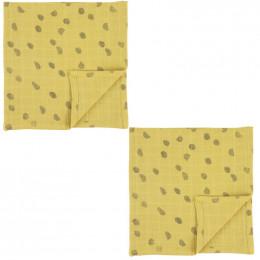 Langes en mousseline - 110x110cm - 2pcs - Sunny Spots