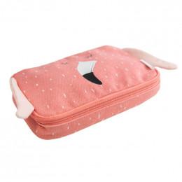 Trousse rectangulaire - Mrs. Flamingo