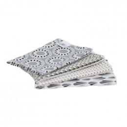 4 mouchoirs en coton Malawa - M - 25 x 25 cm