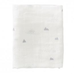 Set de 2 langes tétra Polar Bear - 120x120 cm