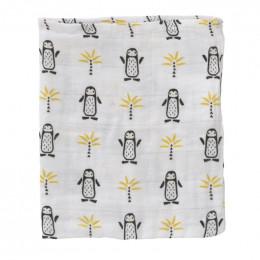 Set de 3 gants de toilette Pinguin