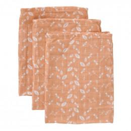 Set de 3 gants de toilette Forest ash rose