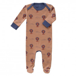 Pyjama bébé à pieds - Lion