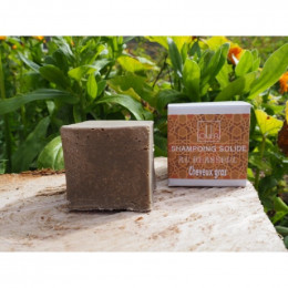 Shampooing solide - Rhassoul - Cheveux gras - 75 g