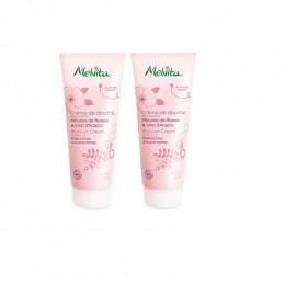 Duo de crème  de douche Bio Pétales de Roses et Miel d'Acacia - 2 x 200 ml