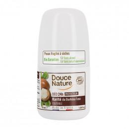 Déodorant Bio - Protecteur 24 h - Karité - Roll-on 50 ml