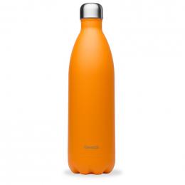 Gourde bouteille nomade isotherme - 1 litre - Pop orange