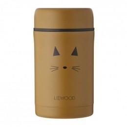 Pot alimentaire thermique Bernard - Cat mustard